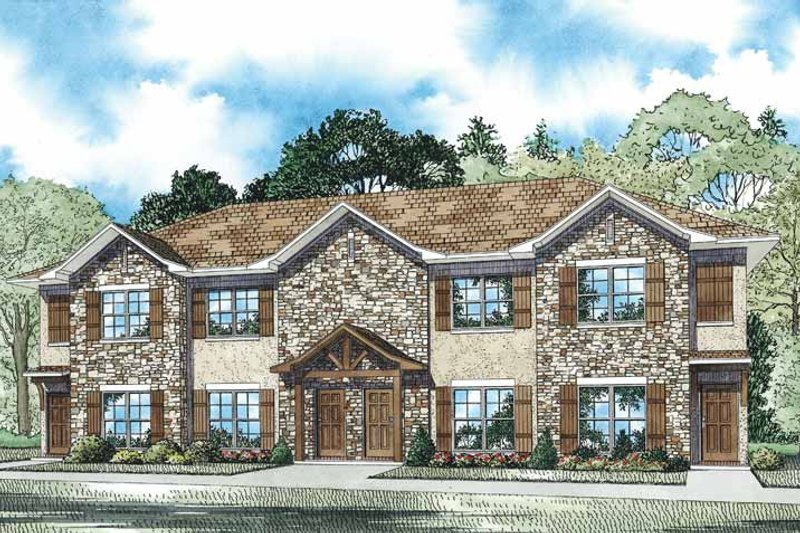 House Design - Traditional Exterior - Front Elevation Plan #17-3359