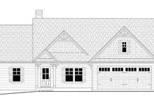 Dream House Plan - Ranch Exterior - Front Elevation Plan #437-79