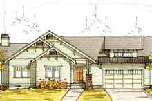 House Plan Design - Craftsman Exterior - Front Elevation Plan #895-81