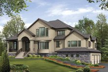 Contemporary Exterior - Front Elevation Plan #132-511