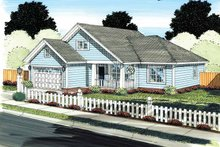 House Plan Design - Traditional Exterior - Front Elevation Plan #513-2138