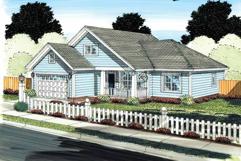 Traditional Exterior - Front Elevation Plan #513-2138