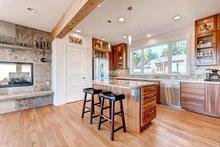 Architectural House Design - Prairie Interior - Kitchen Plan #1042-17