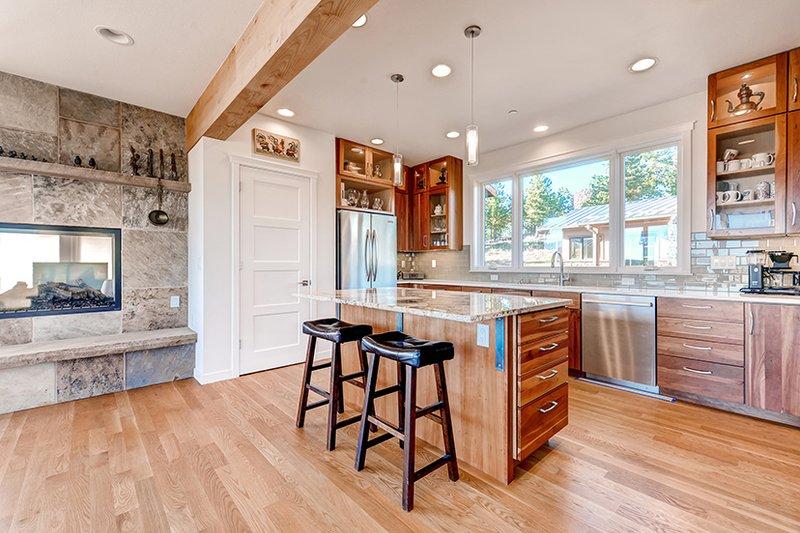 Prairie Interior - Kitchen Plan #1042-17 - Houseplans.com