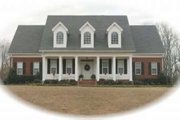 Southern Style House Plan - 3 Beds 2.5 Baths 2907 Sq/Ft Plan #81-1086 Exterior - Front Elevation