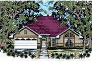 Traditional Style House Plan - 4 Beds 2 Baths 1856 Sq/Ft Plan #42-363