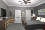 Cottage Style House Plan - 1 Beds 1 Baths 514 Sq/Ft Plan #56-715 Interior - Bedroom