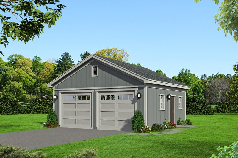 Dream House Plan - Country Exterior - Front Elevation Plan #932-103