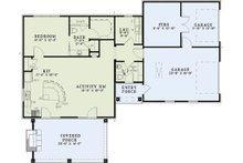 European Floor Plan - Main Floor Plan Plan #17-2577