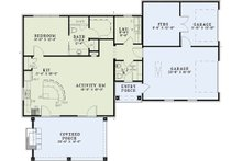 European Floor Plan - Main Floor Plan Plan #17-2577
