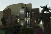 Modern Style House Plan - 3 Beds 3.5 Baths 2562 Sq/Ft Plan #120-169 Exterior - Front Elevation