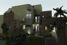 Home Plan - Modern Exterior - Front Elevation Plan #120-169