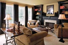 Country Interior - Family Room Plan #927-164