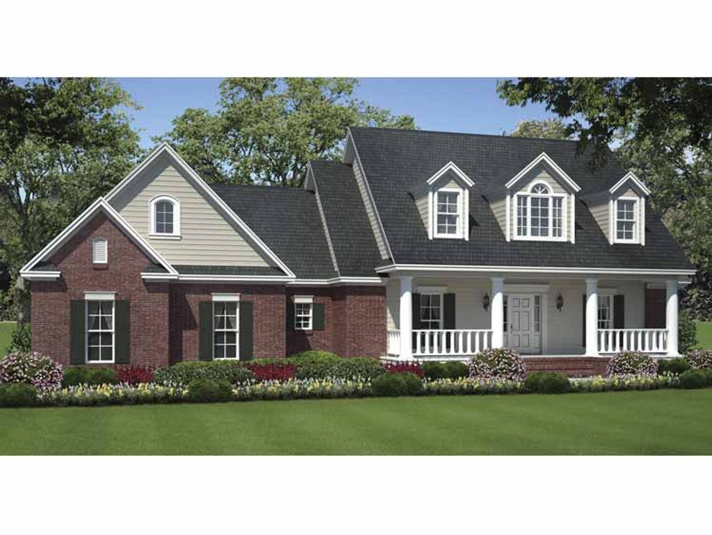 Country style house plan 3 beds 2 baths 1635 sq ft plan for Www eplans