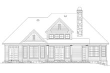 Country Exterior - Rear Elevation Plan #929-700
