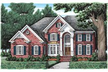 House Plan Design - Classical Exterior - Front Elevation Plan #927-920