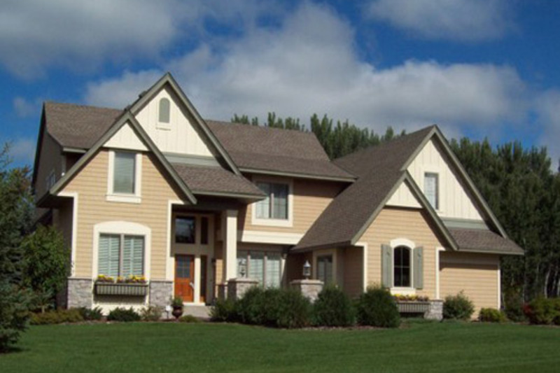 Traditional Exterior - Front Elevation Plan #56-598 - Houseplans.com