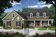 Country Exterior - Front Elevation Plan #21-379