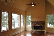 European Style House Plan - 4 Beds 5 Baths 3907 Sq/Ft Plan #437-70 Interior - Other