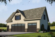 Architectural House Design - Traditional Exterior - Front Elevation Plan #20-2310