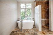 European Style House Plan - 5 Beds 5 Baths 5159 Sq/Ft Plan #449-22 Interior - Master Bathroom