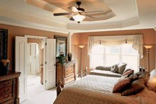 House Plan Design - Country Interior - Master Bedroom Plan #927-672