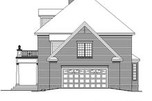 Dream House Plan - Classical Exterior - Other Elevation Plan #929-626