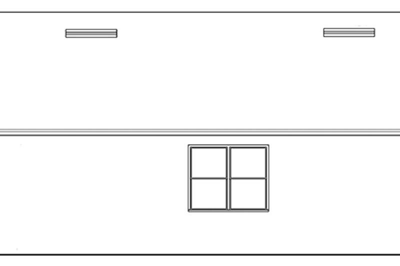 Ranch Exterior - Other Elevation Plan #1058-101 - Houseplans.com