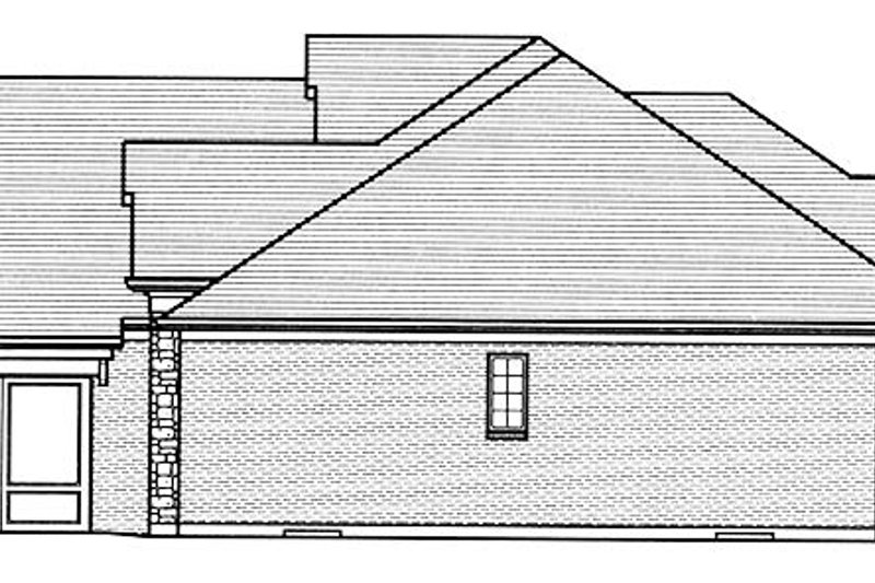 European Exterior - Other Elevation Plan #46-854 - Houseplans.com