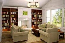 Ranch Interior - Family Room Plan #124-887