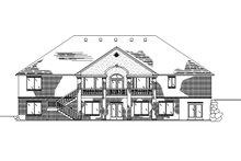 House Plan Design - European Exterior - Rear Elevation Plan #945-129