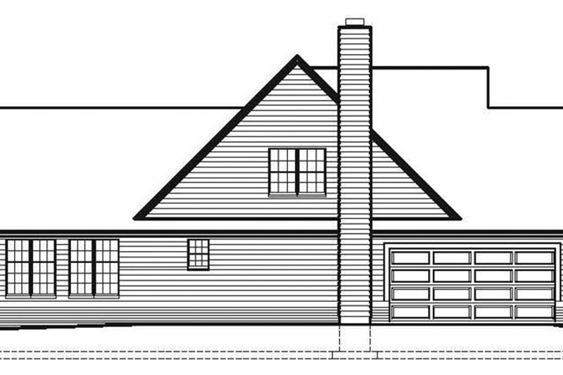 Ranch Exterior - Other Elevation Plan #1051-11 - Houseplans.com