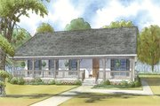 Country Style House Plan - 3 Beds 2 Baths 1800 Sq/Ft Plan #923-34 Exterior - Front Elevation