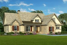 Craftsman Exterior - Front Elevation Plan #929-936
