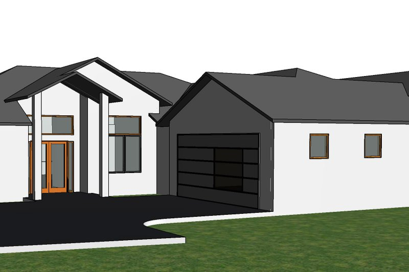 Dream House Plan - Traditional Exterior - Front Elevation Plan #1066-107