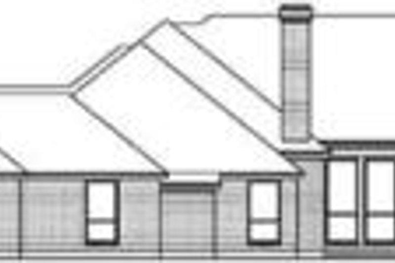 Traditional Exterior - Rear Elevation Plan #84-185 - Houseplans.com