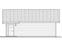 Prairie Exterior - Other Elevation Plan #124-1006