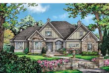 Country Exterior - Front Elevation Plan #929-873