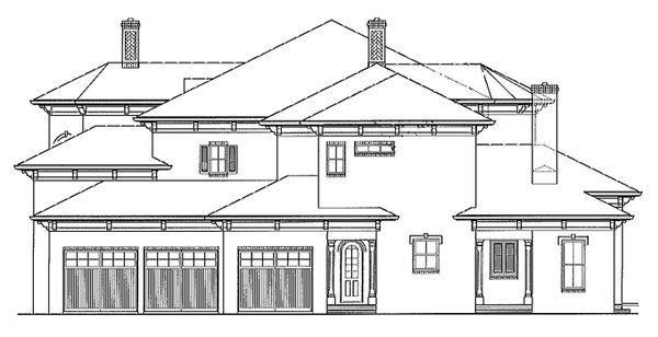 House Plan Design - Mediterranean Floor Plan - Other Floor Plan #54-284