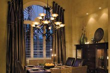 Architectural House Design - Mediterranean Interior - Dining Room Plan #930-315