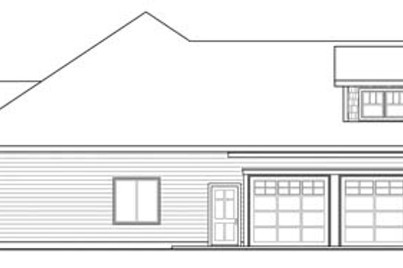 Craftsman Exterior - Other Elevation Plan #124-846 - Houseplans.com