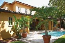 House Plan Design - Mediterranean Exterior - Rear Elevation Plan #1019-2