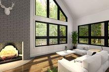 Modern Interior - Family Room Plan #23-2021