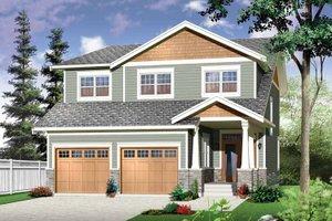 Craftsman Exterior - Front Elevation Plan #23-2483