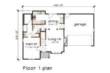 Cottage Floor Plan - Main Floor Plan Plan #79-158