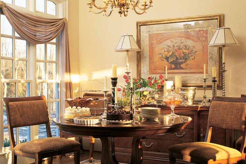 Country Interior - Dining Room Plan #429-299 - Houseplans.com