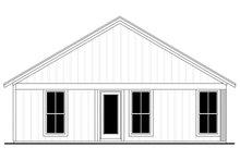Farmhouse Exterior - Rear Elevation Plan #430-206