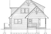 Cottage Style House Plan - 2 Beds 2 Baths 1286 Sq/Ft Plan #118-111 Exterior - Other Elevation