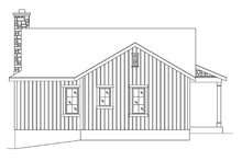 Cottage Exterior - Rear Elevation Plan #22-574
