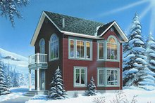 House Plan Design - Traditional Exterior - Front Elevation Plan #23-874
